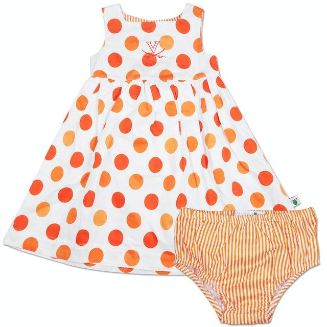 UVA Athletics Toddler Soiree Dress & Bloomer Set