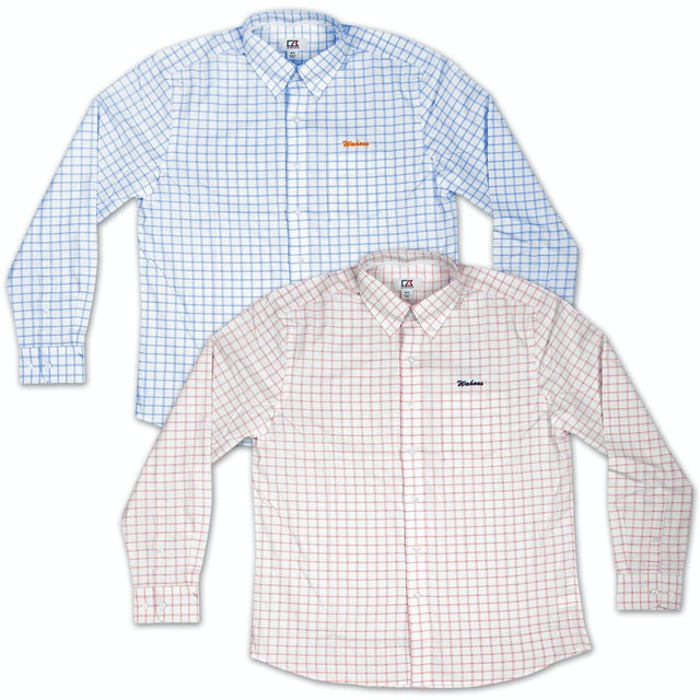 UVA Athletics Cutter & Buck Wahoos Cross Check Shirt