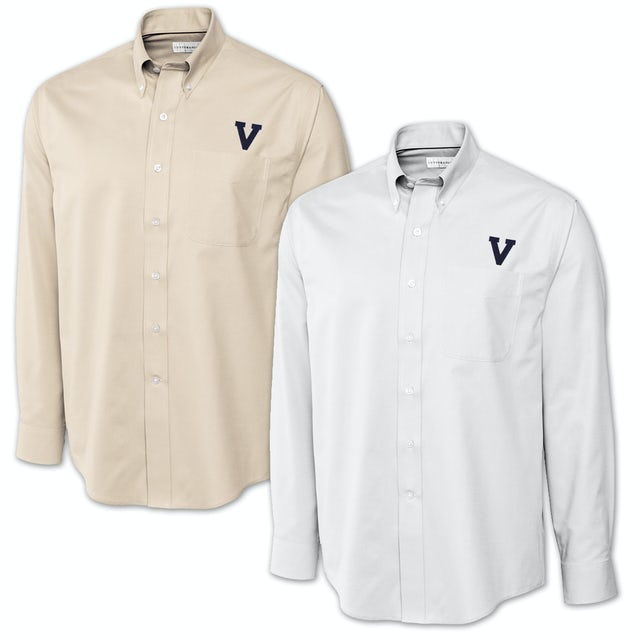 UVA Athletics Cutter & Buck Classic V Epic Twill Shirt