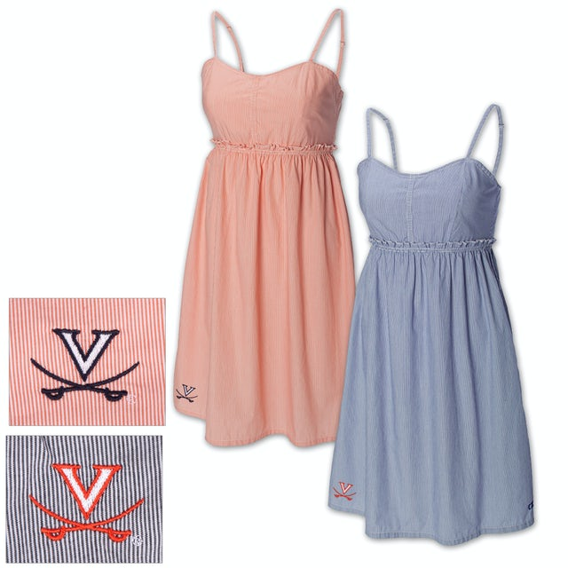 UVA Athletics Cutter & Buck Seventh Inning Sun Dress