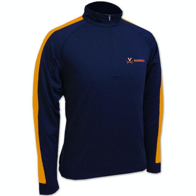 UVA Athletics Baseball Levelwear 1/4 Zip Sport Top