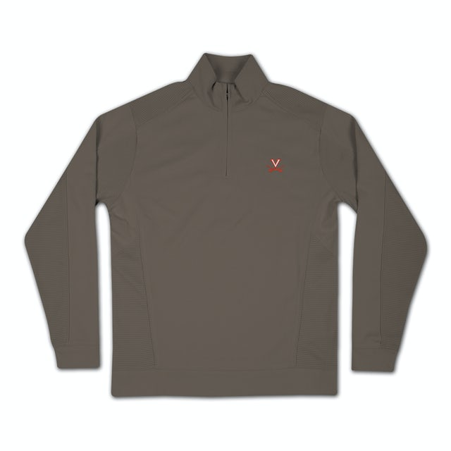 UVA Athletics Drytec Edge Half Zip Fleece