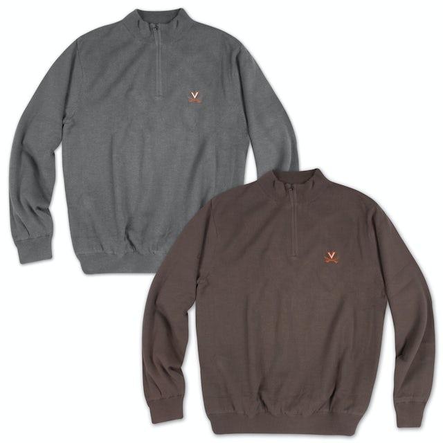 UVA Athletics Sandpoint Half Zip Wind Sweater