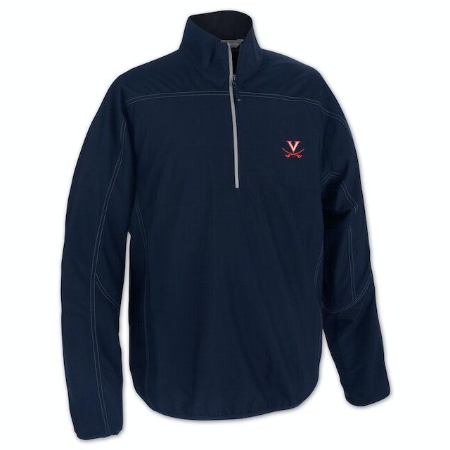 UVA Athletics Golf Weathertec Kenmore Half Zip Jacket