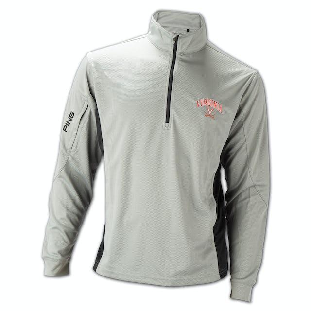 UVA Athletics PING Backswing 1/4 Zip Pullover