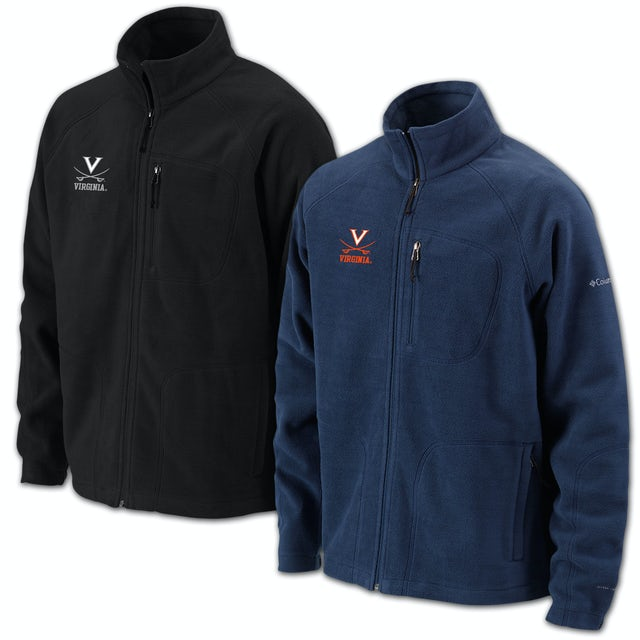 UVA Athletics Columbia Thermatrek Full Zip Jacket