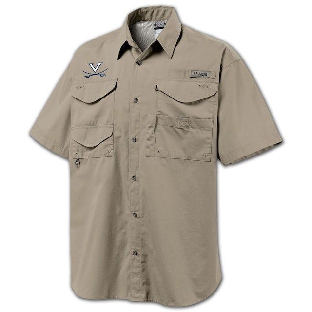 UVA Athletics Columbia Bonehead Fishing Shirt