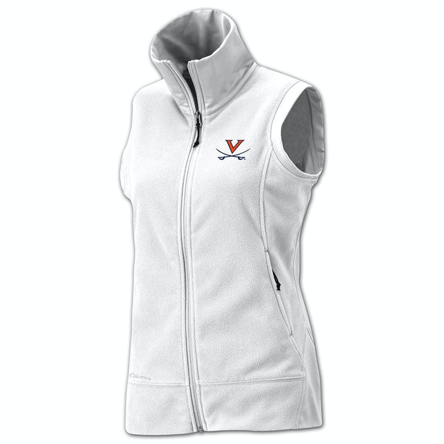 UVA Athletics Columbia Ladies Give and Go Full Zip Vest