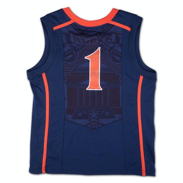 UVA Athletics Youth Nike Replica Basketball Jersey #1 Navy