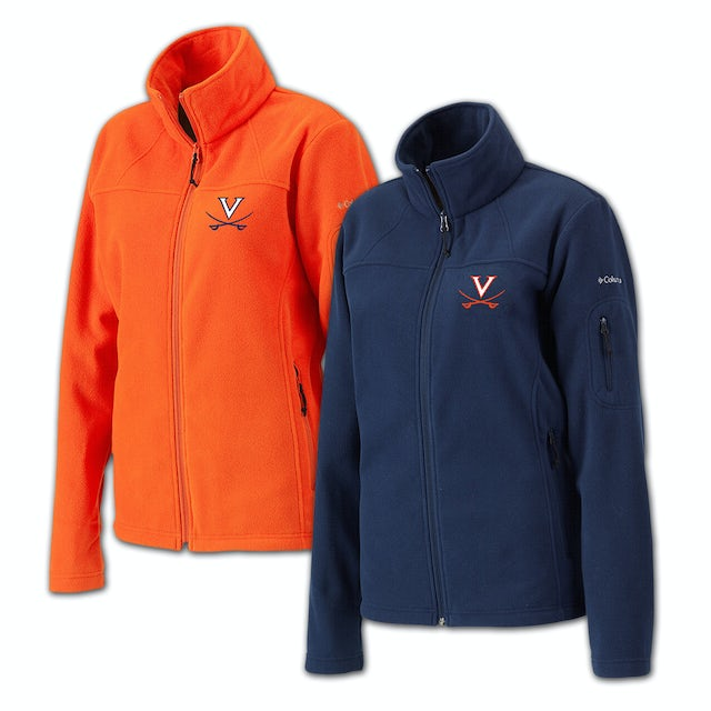 UVA Athletics Columbia Ladies Give & Go Full Zip Fleece