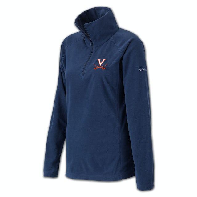UVA Athletics Columbia Ladies Glacial Half Zip Fleece