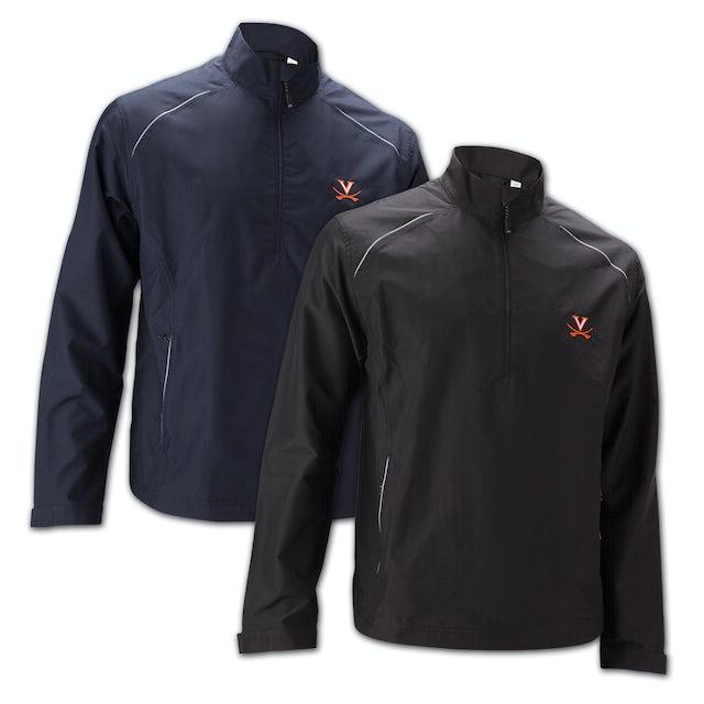 UVA Athletics Cutter & Buck Weathertec Beacon Half Zip Jacket