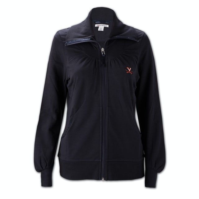 UVA Athletics Cutter & Buck Ladies Vancouver Full Zip