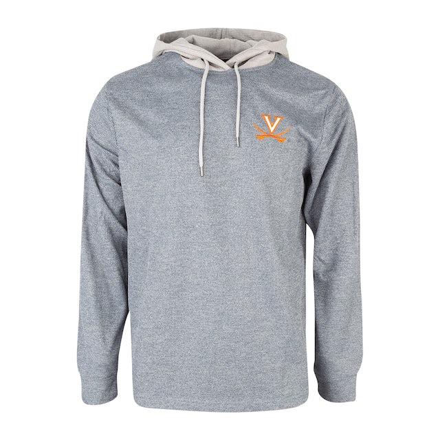 UVA Athletics University of Virginia Long Sleeve Hooded T-shirt