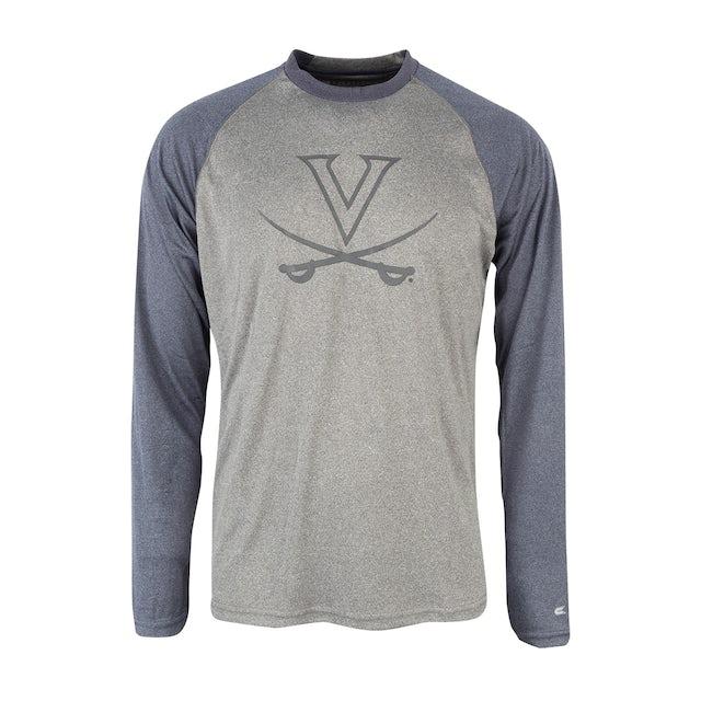 UVA Athletics University of Virginia Long Sleeve Raglan T-shirt