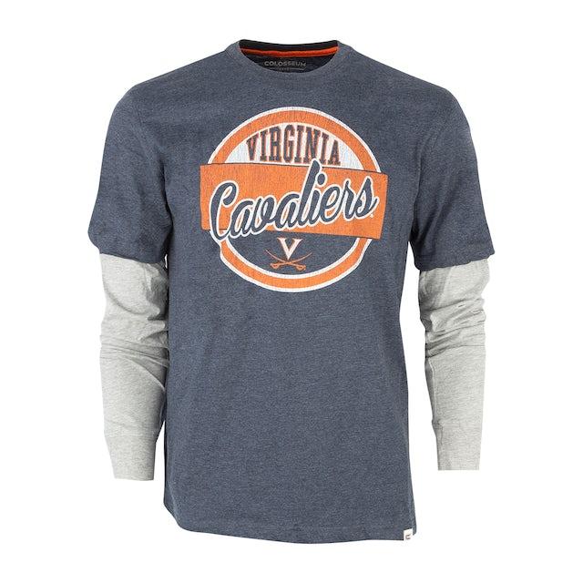 UVA Athletics University of Virginia 2-Layer Long Sleeve T-shirt