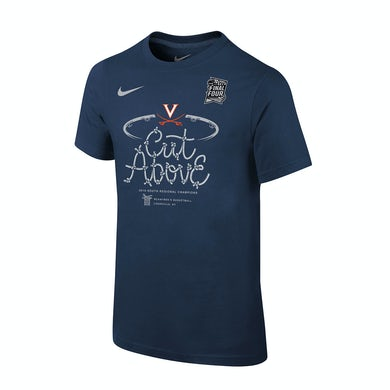 UVA Athletics Official Nike 2019 South Regional Champion Locker Room Youth Shirt