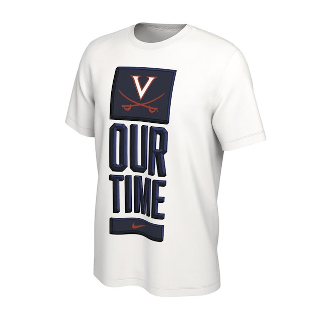 UVA Athletics Virginia Cavaliers 2020 Our Time Bench T-shirt