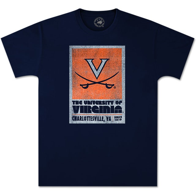 UVA Athletics Rated Vintage T-Shirt