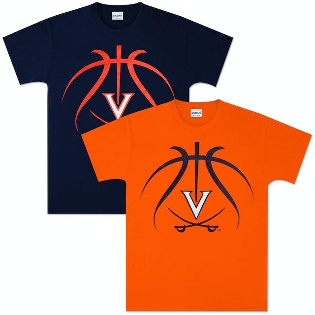 UVA Athletics Basketball Lines T-shirt