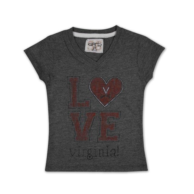 UVA Athletics Youth Girls Mary T-shirt