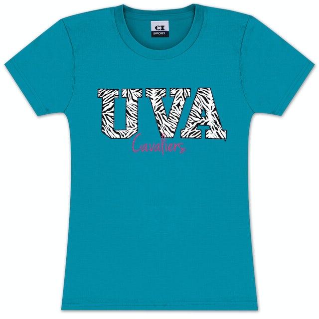 UVA Athletics Pratt Zebra Juniors T-shirt