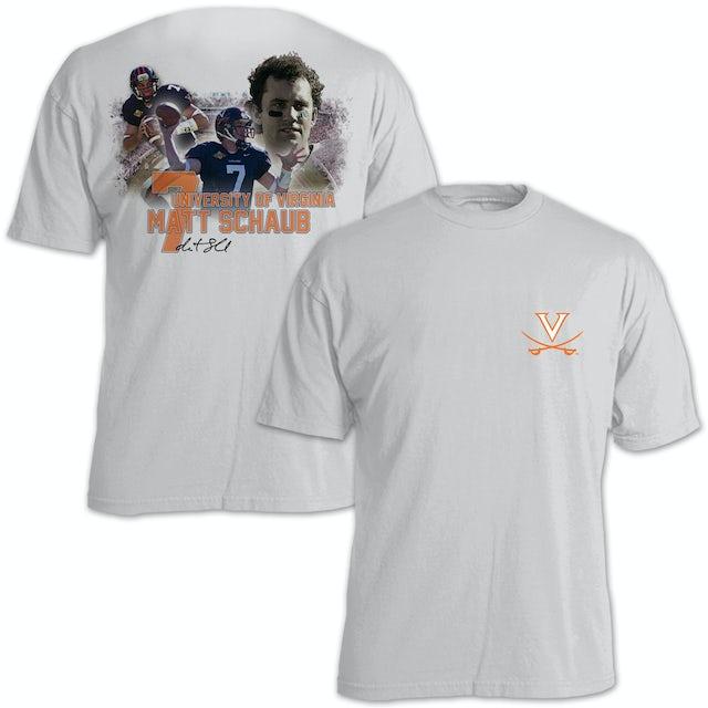 UVA Athletics Matt Schaub #7 Stadium Flashback T-Shirt