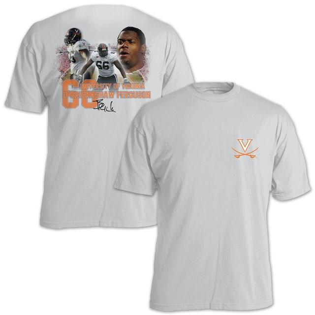 UVA Athletics D'Brickashaw Ferguson #66 Stadium Flashback T-Shirt