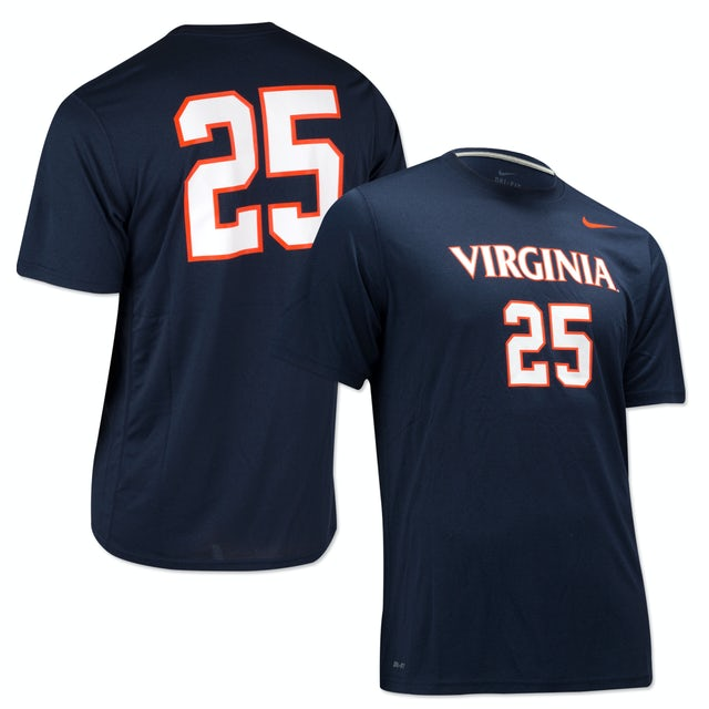 UVA Athletics Nike Legend Number T-shirt