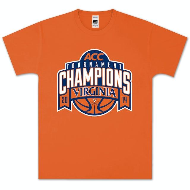 UVA Athletics 2014 ACC Tournament Champions Banner T-Shirt
