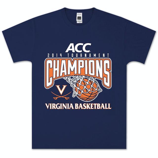 UVA Athletics 2014 ACC Tournament Champions Basket T-Shirt