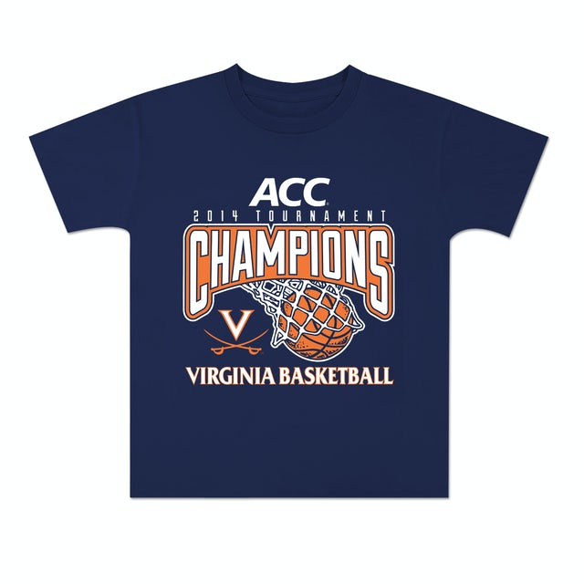 UVA Athletics 2014 ACC Tournament Champions Youth T-Shirt