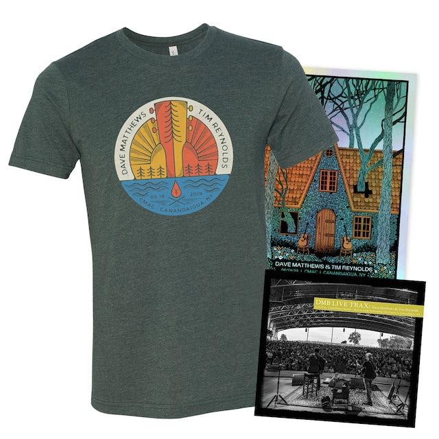 Dave Matthews Band Live Trax Vol. 49 +  Foil Poster +  T-shirt Bundle