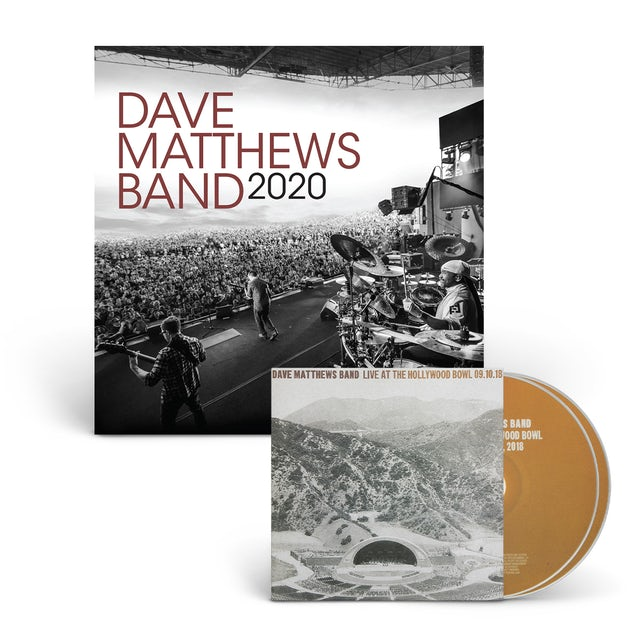 Dave Matthews Band Live At The Hollywood Bowl CD + 2020 Calendar