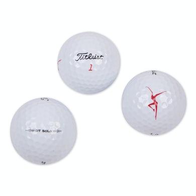 Dave Matthews Band Firedancer 3-Pack Titleist DT SoLo Golf Balls