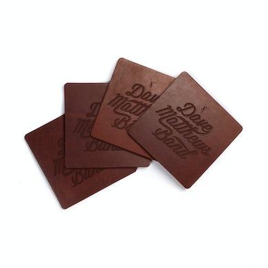 Dave Matthews Band Debossed Leather Coaster Set