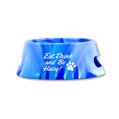 Dave Matthews Band Eat, Drink, and Be Hairy Dog Bowl