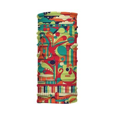 Dave Matthews Band Collage Neck Gaiter - Multicolor