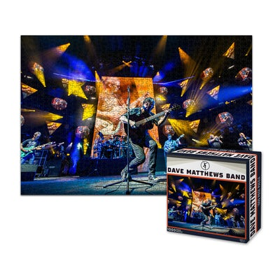 Dave Matthews Band On Stage Jigsaw Puzzle
