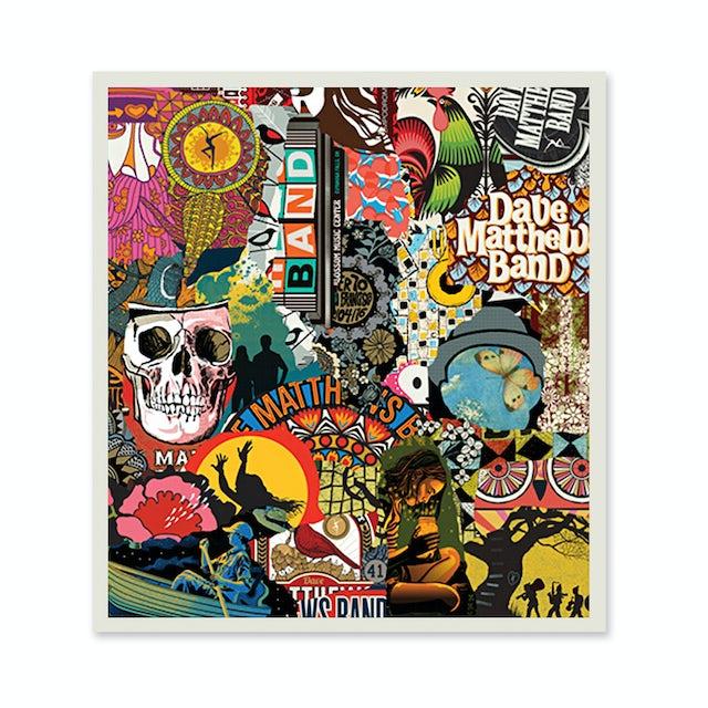 Dave Matthews Band Live 25 Poster