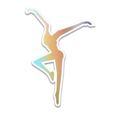 Dave Matthews Band Rainbow Foil Firedancer Sticker