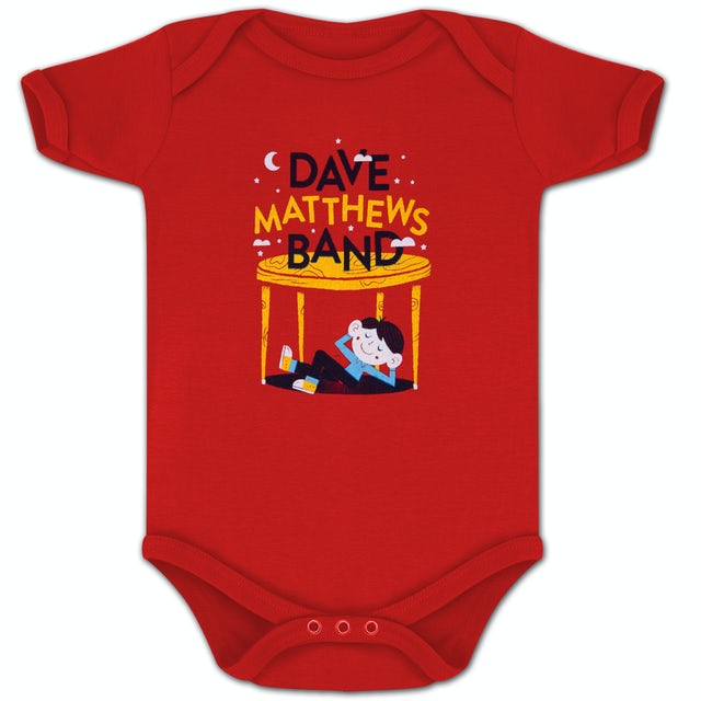 Dave Matthews Band Under The Table Onesie