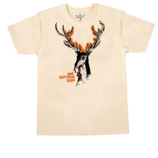 Dave Matthews Band Deer Logo Edun Shirt