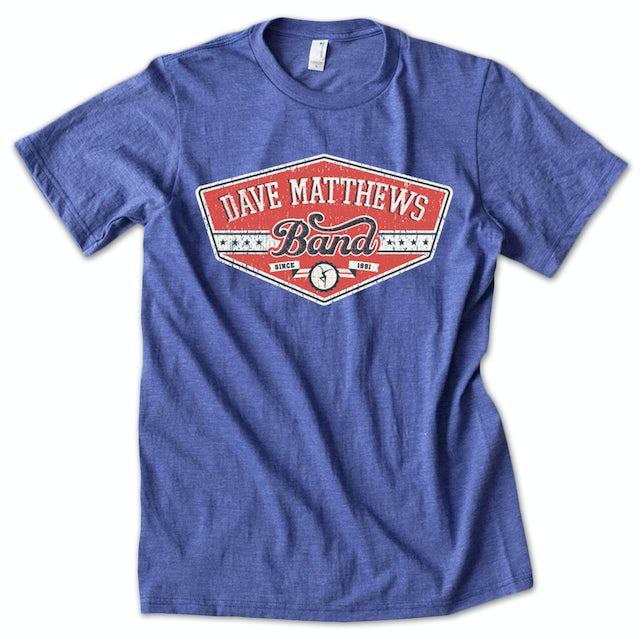Dave Matthews Band 2012 Athletic Logo Shirt