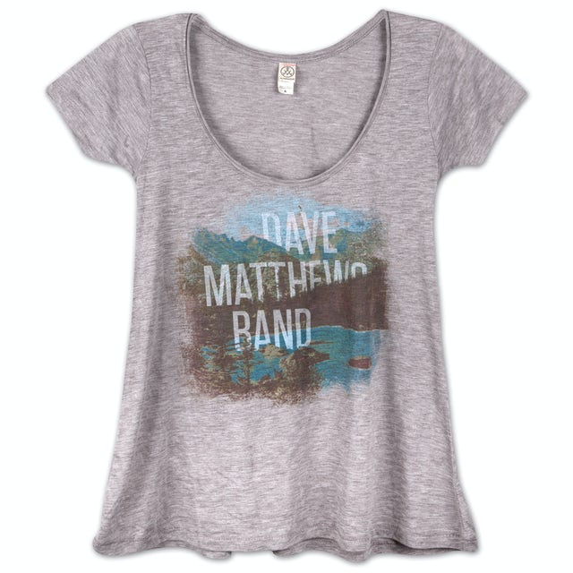 Dave Matthews Band 2013 Ladies Landscape Drape Shirt