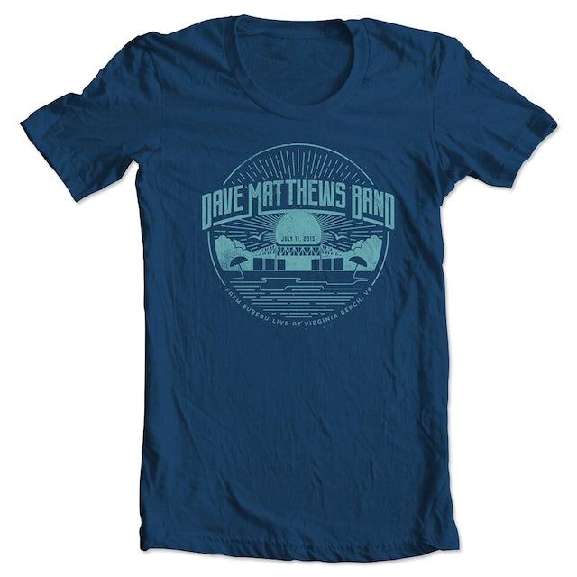Dave Matthews Band Event T-shirt - Virginia Beach, VA 7/11/2015
