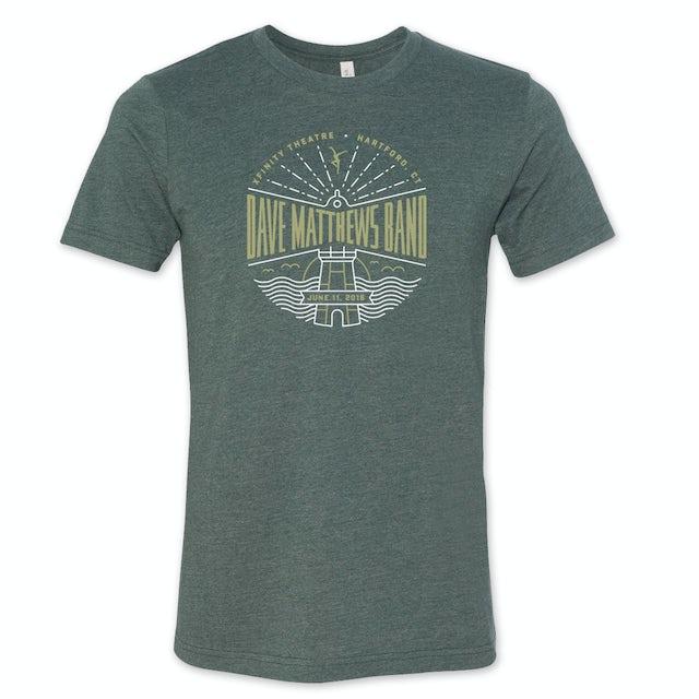 Dave Matthews Band Event T-shirt - Hartford, CT