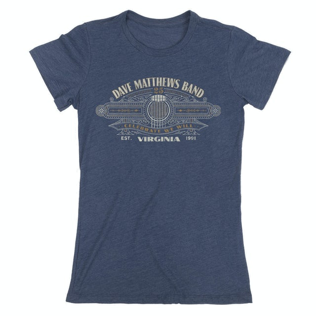Dave Matthews Band Live 25 Women's Tee