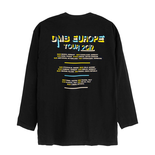 Dave Matthews Band 2019 European Longsleeve Tour Tee