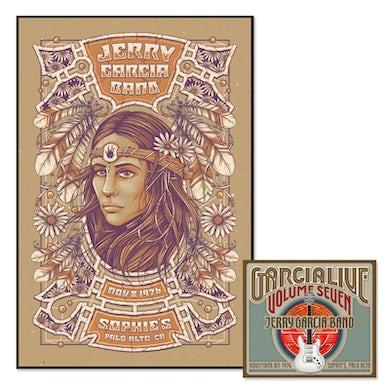 Jerry Garcia Band - GarciaLive Volume 7: Download & Poster Bundle
